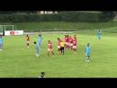 Жиго забивает после розыгрыша углового Промес подал Мельгарехо переправил мяч во вратарскую где Жиго головой забил 4 1