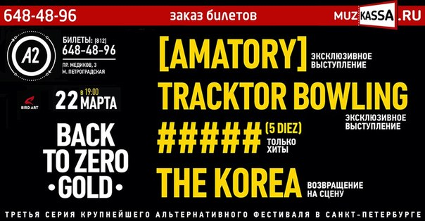 Back to Zero: Gold spb