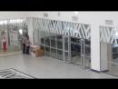 Выставочный комплекс. Талдыкорган.   Из экскурсии по зданию. Гид - директор региональной палаты предпринимателей Алматинской обл
