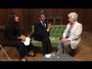 Беседа Эммануэля Макрона с Госпожой Солженицыной