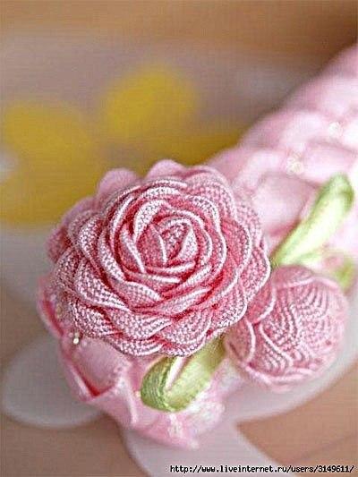 Ideas Para El Hogar Paso A Paso Rosas Con Cintas