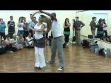МК Gilson&ampNatasha в Чебоксарах по бразильскому зуку, 23.11.2013 г. Демо под музыку #1.