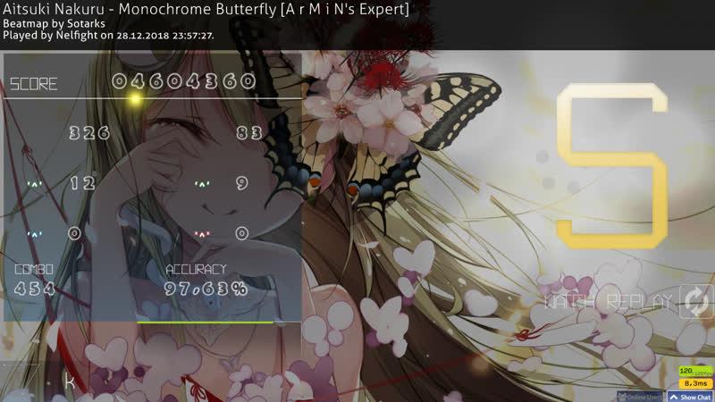 Aitsuki Nakuru - Monochrome Butterfly [A r M i N's Expert] no CB