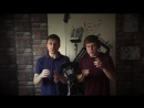 TIMER and HELIUM beatbox routine