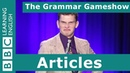 Articles The Grammar Gameshow Episode 28