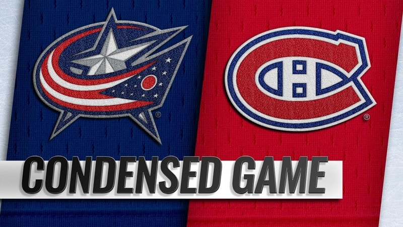 021919 Condensed Game Blue Jackets @ Canadiens