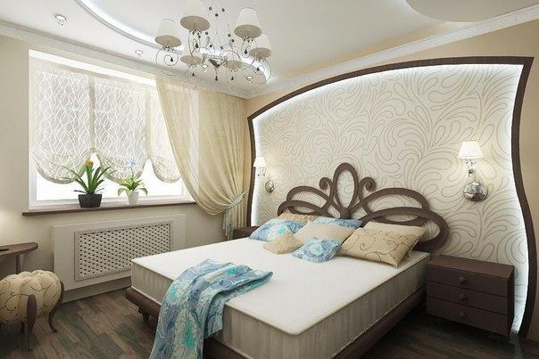 Прекрасная спальня (1 фото)