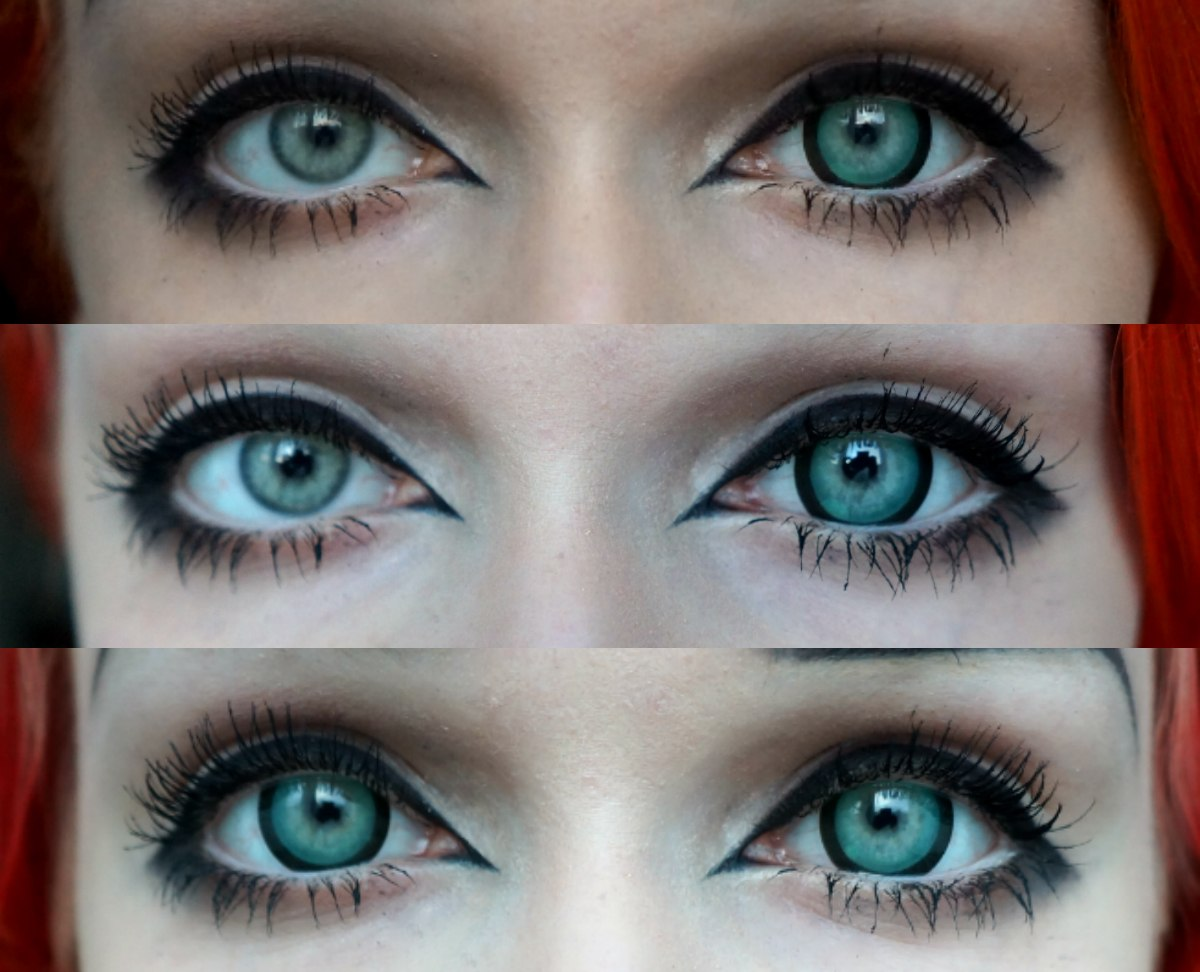 122 Как сделать глаза зеленого цвета без линз