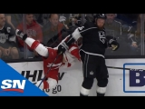 Лучшие силовые приемы первой игровой недели   NHL Hits of The Week 1