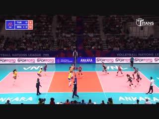 Gabriela Braga Guimaraes (GABI) - Fantastic Volleyball SPIKES. Womens VNL 2018