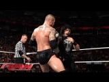 Randy Orton vs Roman Reigns (WWE RAW 04.05.15). Part 1