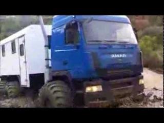 Вахтовый грузовой вездеход