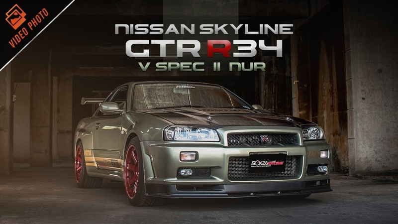 Nissan Skyline GTR R34 V Spec II Nur by Pond Connection