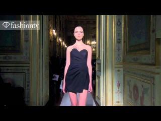 Nastya Tarasava for Clarisse Hieraix Couture Spring/Summer 2013 | Paris Couture Fashion Week | FashionTV
