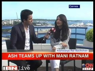 Cannes 2014 - Aishwarya Rai Bachchan Interview with IBNLive 2014