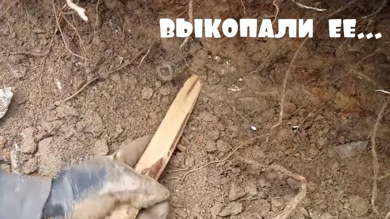НАХОДКА КОТОРАЯ УДИВИЛА ВСЕХ . ШУРФИМ ФУНДАМЕНТ