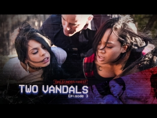 Girls Under Arrest / Gina Valentina, Honey Gold [Two Starlets] ( Brunette, Threesome, Small Tits, Teen, POV, All sex)