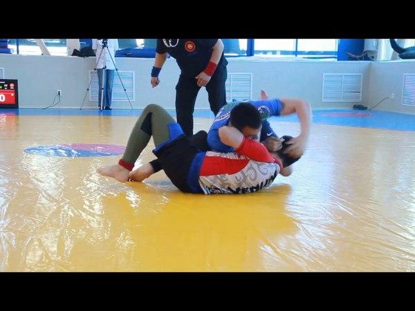 No Gi. Диловар vs Хан Даниил. до 77 кг. 18 лет