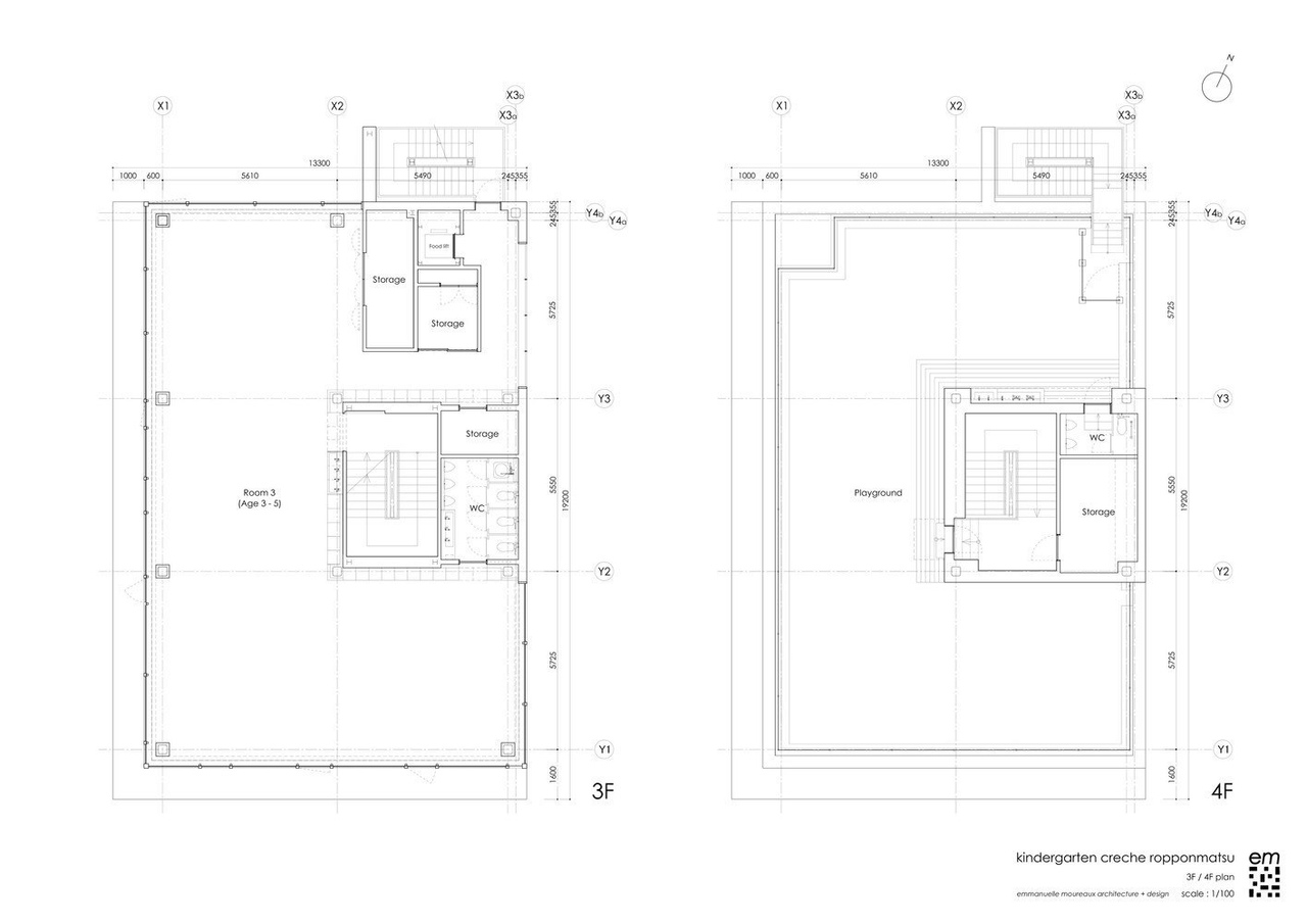 Creche Ropponmatsu Kindergarten / Emmanuelle Moureaux Architecture   Design