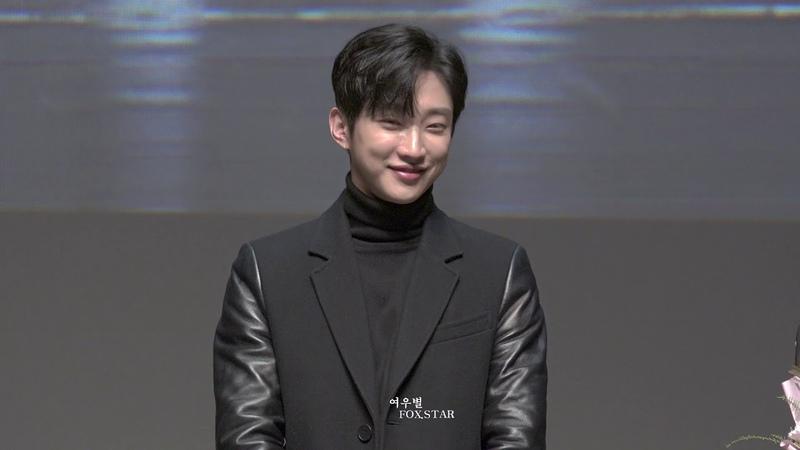 181208 B1A4 진영 영화 내안의 그놈 특별시사회 무대인사 2회차