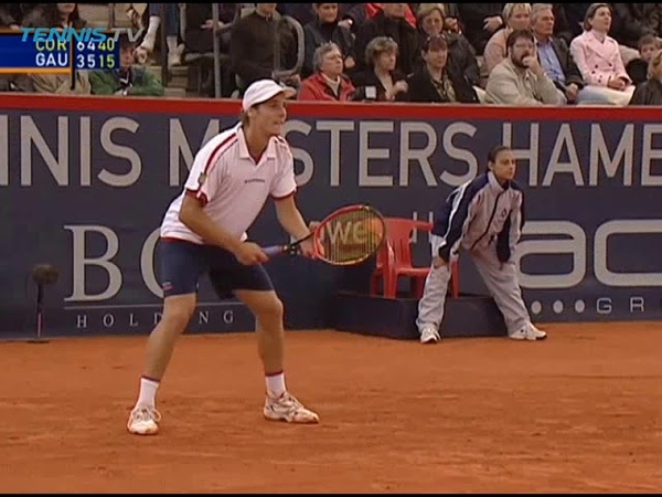 Guillermo Coria vs Gaston Gaudio 2003 Hamburg SF Highlights