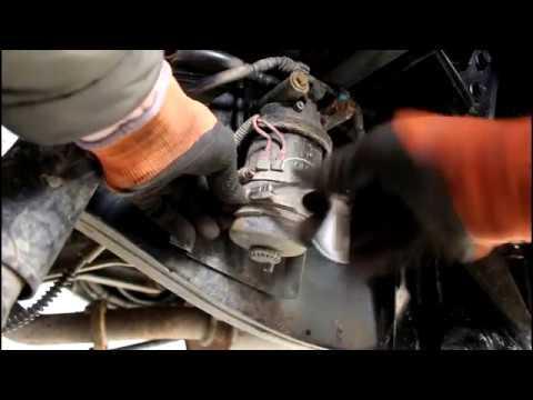 Замена топливного фильтра на Land Rover Defender Ленд Ровер Дефендер 2013 года