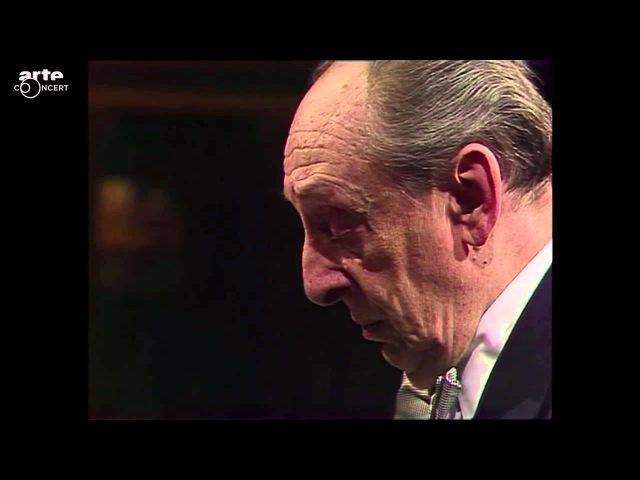 Klavierabend (1987) Vladimir Horowitz. Goldener Saal, Wiener Musikverein