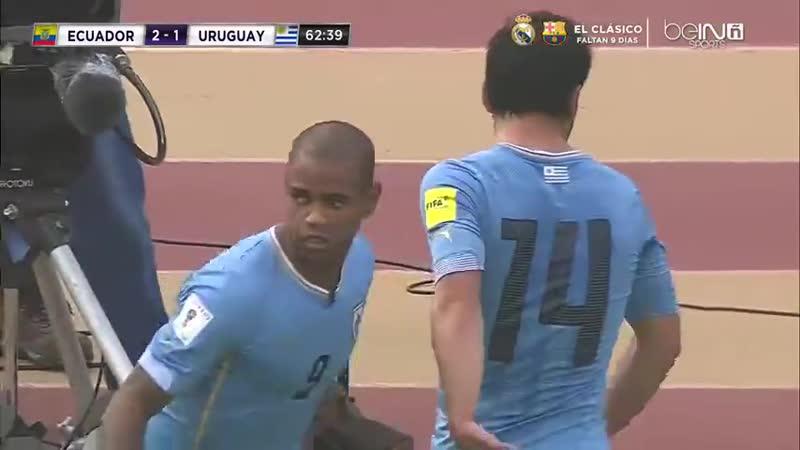 Ecuador vs Uruguay Segundo Tiempo Eliminatorias a Rusia 2018 [VDownloader]