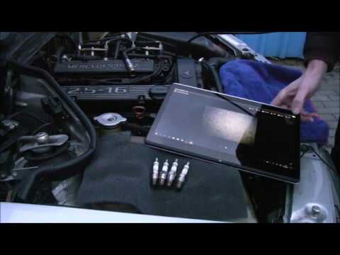 MB Cosworth - Dekarbonizace pomocí autotabletek