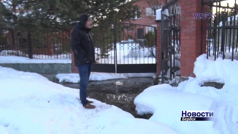 Житель бердского посёлка Светлый обвиняет администрацию в бездействии