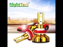 NightTech H4 LED H7 H8 H11 H1 9005 9006 Auto Car Headlight 60W 12000LM High Low Beam Light Automobiles Lamp white 6500K Bulb