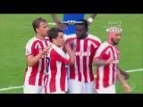 Боян забил первый гол за Сток Сити в товарищеском матче против Шальке