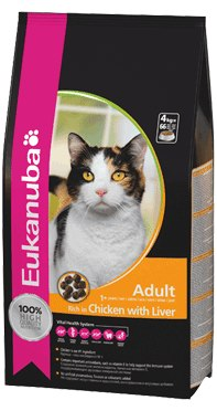 Eukanuba Adult Cat Rich in Chicken and Liver