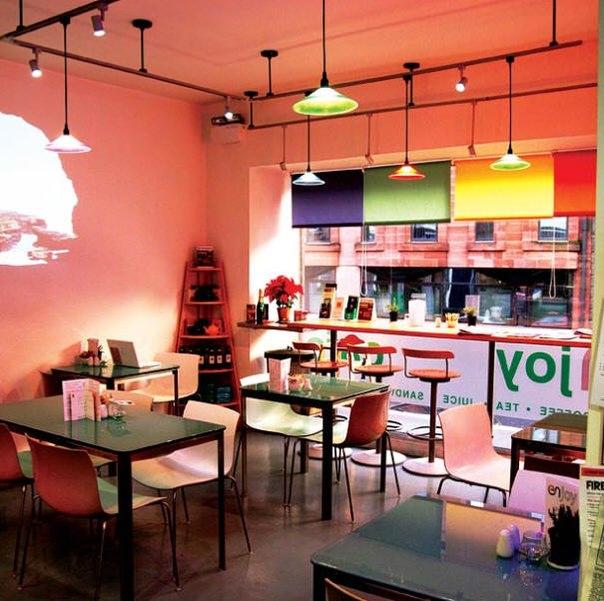 Дизайны небольших кафе