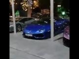 Вот такая красота стоит возле Hyatt Regency Sochi
