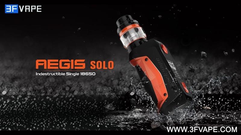 GeekVape Aegis Solo 100W TC Kit