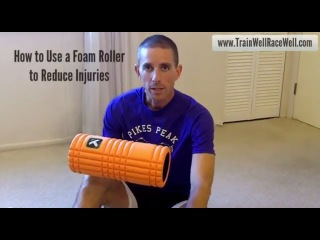 How to Use a Foam Roller to Reduce Injuries With Running - ITB, hamstring, etc.