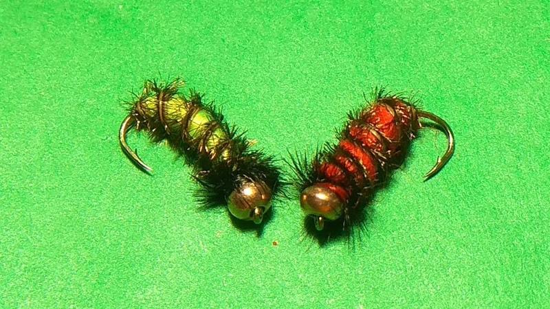 зимняя гусеница своими руками
