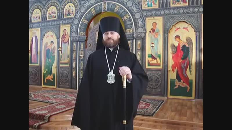 Рождественское поздравление Епископа Сызранского и Жигулёвского Фомы 2019