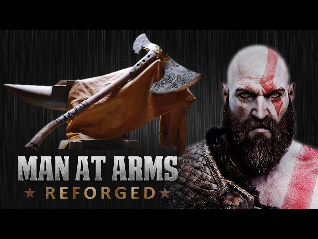 Kratos' Axe - God of War - MAN AT ARMS: REFORGED