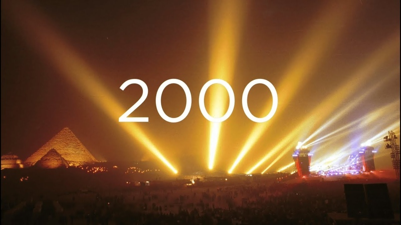 50 YEARS OF MUSIC 2000 JMJSeries Metamorphoses and the Millenium Concert at the Pyramids