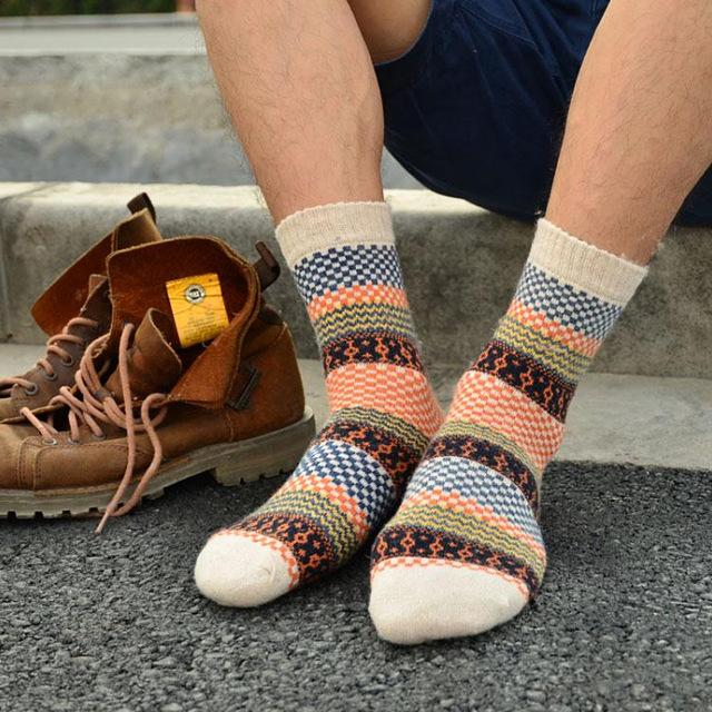 Шерстяные носки 168