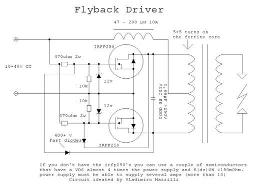Схемы   Типичный HV-шник  