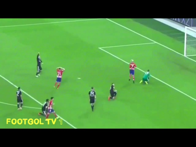 Карабах vs Атлетико Мадрид 0:0 обзор матча в HD.