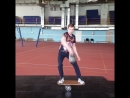 Айрат Имангулов Kettlebell power juggling on balance board and overhead squat combo 😉 Music: Van Halen - Ain't Talkin' 'Bout Lov
