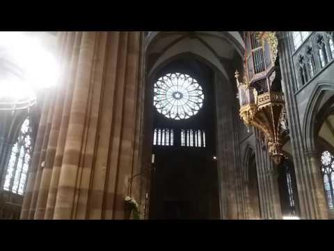 Страсбургский кафедральный собор/Cathédrale Notre-Dame de Strasbourg