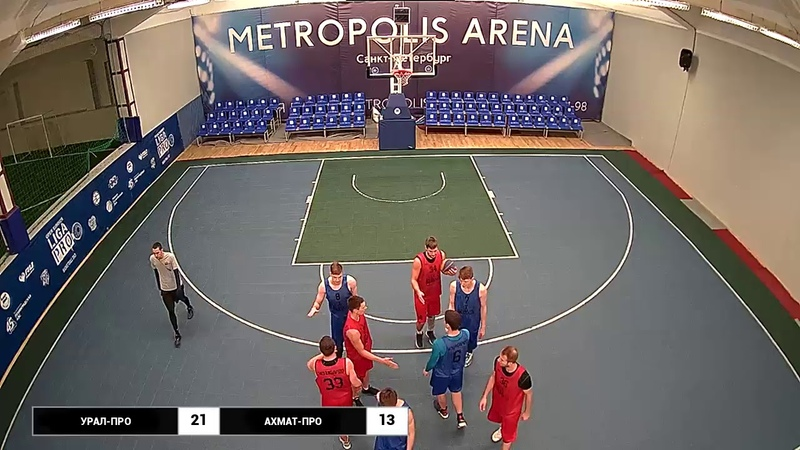 Баскетбол 3х3. Лига Про. Турнир 26 сентября 2018 г