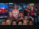 Кей Джей Лили Мэдхен и Люк в гостях у Энди Коэна в шоу Watch What Happens Live 9 10 18