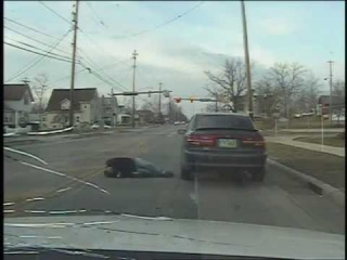 Graphic Dashcam Video: Man With AK 47 Shot To Death By Police