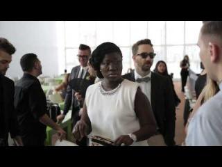 Съемкa «Проект Подиум: все звезды» в нью-йоркской штаб-квартире ООН ;)